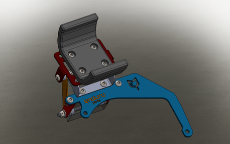 Heavy Duty bracket for navigation with adjustment 1x9x  (1)